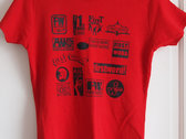 First Word Records Label T-Shirt (womens) photo
