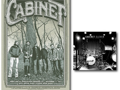Cabinet Limited Edition Poster main photo