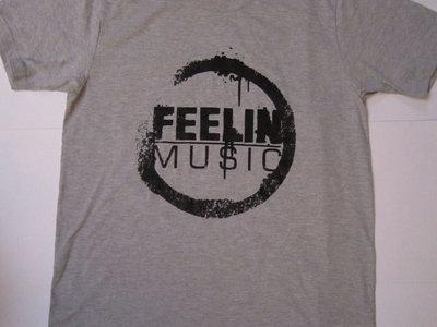 FEELIN' MUSIC T-SHIRTS (GREY) main photo