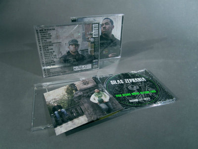 Silas Zephania - War Begins Where Reason Ends (Limited Edition CD) & Instrumentals (Digital Download) main photo