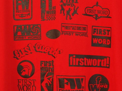 First Word Records Label T-Shirt (mens) main photo