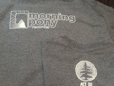 Morning Pony Recorder t-shirt main photo