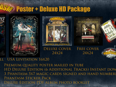 Phantasm Poster + Deluxe HD Package main photo
