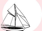 T-shirt - Mon beau navire - Abricot -  Femme photo