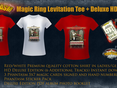 Magic Ring Levitation Tee + HD Deluxe Package main photo