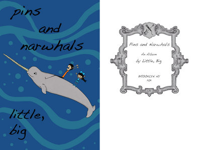 Pins and Narwhals (album + comic book) main photo