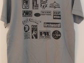 First Word Records Label T-Shirt (mens) photo