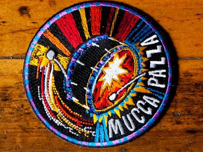 Mucca Pazza Bass Drum Patch main photo