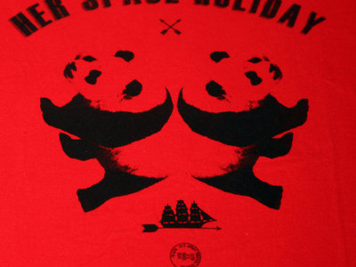 Panda Panda T Shirt (Red) main photo