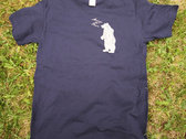 Men's slim-fit tee, standing bear design. (Various colours) photo