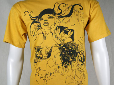 Audiac T-shirt Gold main photo