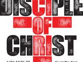 Disciple Of Christ - Mens White T Shirt photo