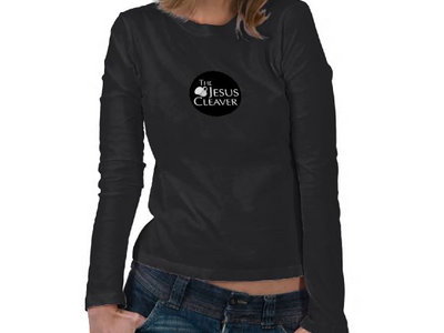 Ladies Long Sleve (Black) (Tea Cup Logo) T Shirt main photo