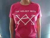 Velvet Ants T-Shirt (Screen Print w/ Logo) photo