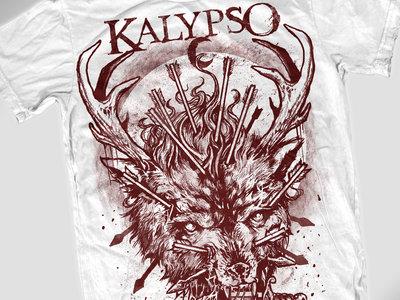 Wolf Shirt (white) main photo