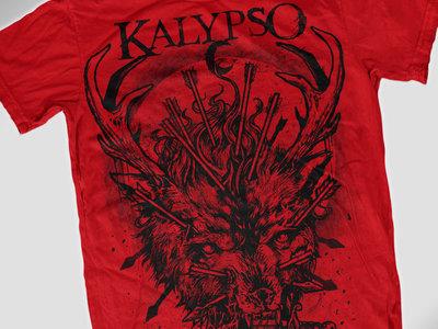 Wolf Shirt (red) main photo