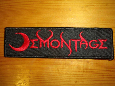 Embroidered logo patch main photo