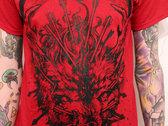 Wolf Shirt (red) photo