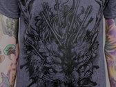 Wolf Shirt (darkheather) photo