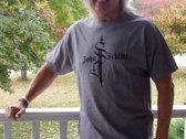John Schlitt Logo Shirt - Dark Gray (size S-XL) photo