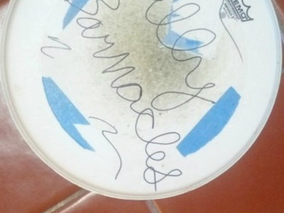 Billy Barnacles Autographed Drum Skin main photo