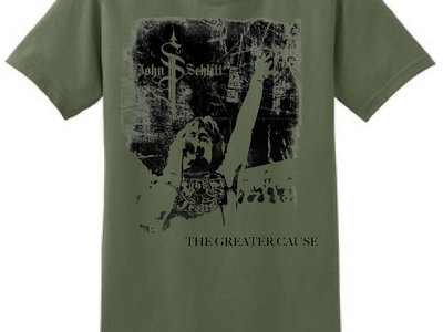 The Greater Cause Shirt - Military Green (size S-XL) main photo