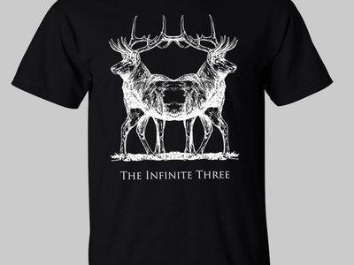 Winter Solstice Double Stag T Shirt main photo