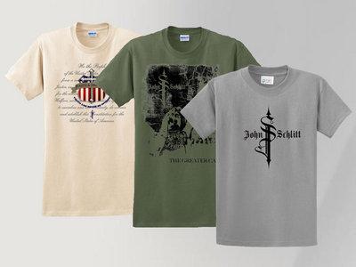 3 SHIRT REAL DEAL (Size XXL) (Military Green, Logo, F&F) main photo