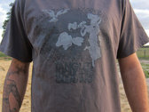 Deaden the Fields shirt - Charcoal photo