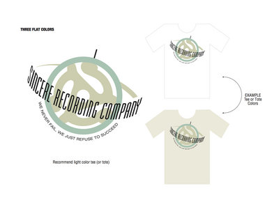 Sincere Recording Company T-shirt main photo