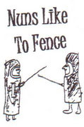 Nuns Like To Fence image