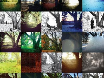 """All My Lovely Goners"" insert poster - trees. main photo"