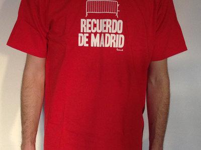 Recuerdo de Madrid Tee (red) main photo