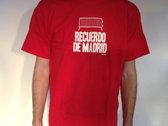 Recuerdo de Madrid Tee (red) photo