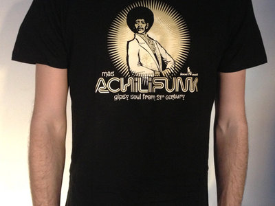 Más Achilifunk Tee (black) main photo