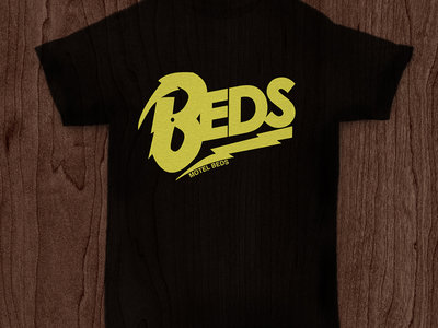 'Beds' Logo T-shirt (yellow/black) main photo