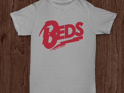 'Beds' Logo T-Shirts (red/grey) main photo