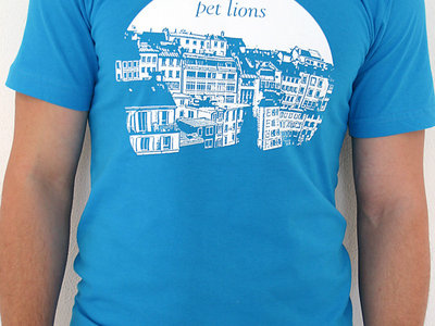 Houses T-Shirt (Teal) main photo
