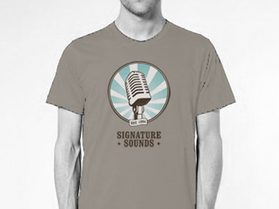 Signature Sounds T-Shirt - Blue Logo main photo
