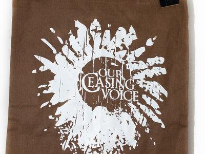 """Brown Tote Bag """"Logo"""" main photo"""