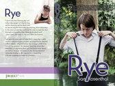 Rye - an erotic novel (paperback book) photo