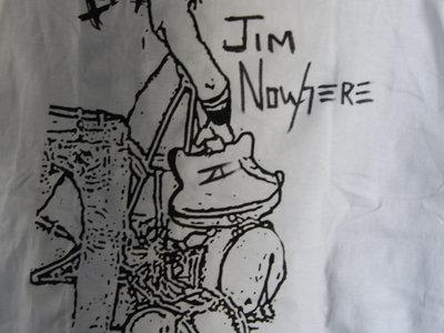 Smashing Guitar White T-Shirt main photo