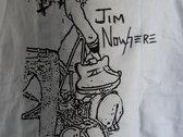 Smashing Guitar White T-Shirt photo