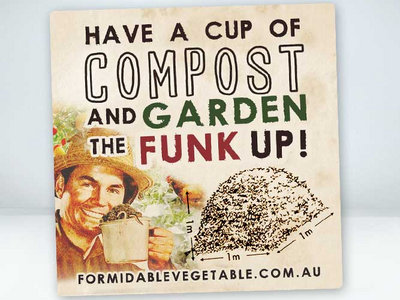 Cup of Compost Sticker main photo