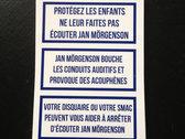 Contra Mörgenson stickers photo
