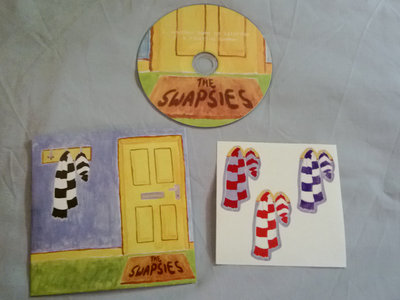Another Game on Saturday b/w A Fleeting Summer CD with stickers main photo