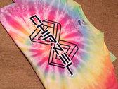 Tie Dye Infinity Logo Tee photo