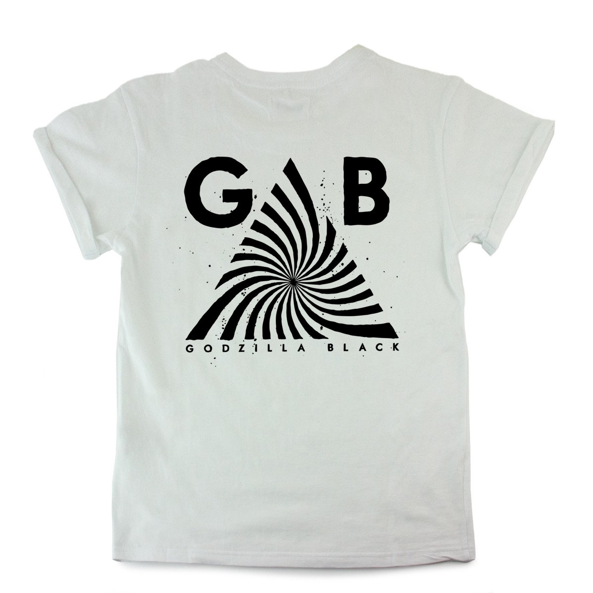 Good quality black t shirt - Black Print Gb Triangle Logo White T Shirt Digital Download Of The Great Terror Includes Unlimited Streaming Of The Great Terror Via The Free Bandcamp App
