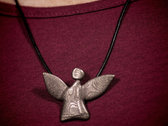 fairy angel #1 - bronze-plated stainless steel photo