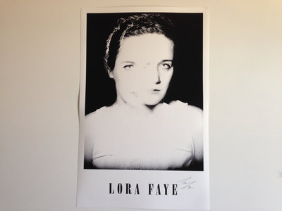 Lora Faye Limited Edition Poster, Signed main photo